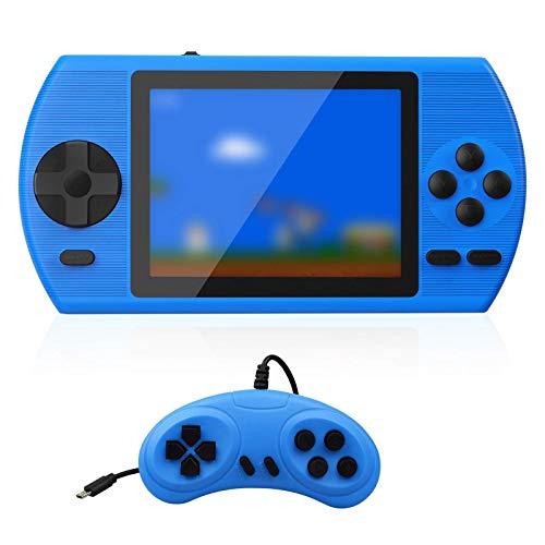 ETPARK Consola de Juegos Portátil, 500 Juegos Retro Consola con 3,5 Pulgadas Pantalla a Color Soporte Dos Jugadores y Conexión de TV con Batería Recargable de 800 mAh Presente para niños y Adultos