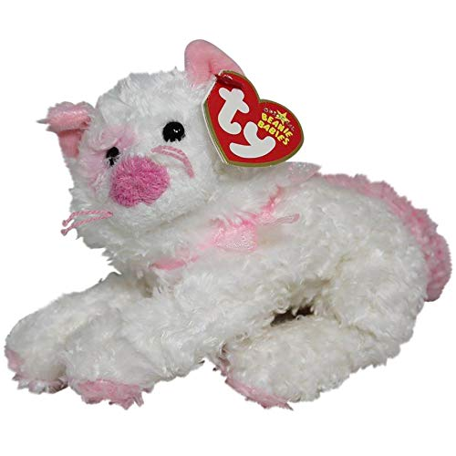 Ty Beanie Babies Cat Pinkerton the Pink and White Kitten 7'