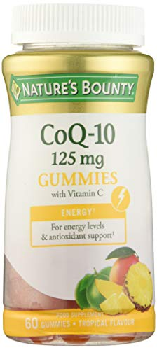 Nature's Bounty Co Q-10 125 mg Gummies: contribuye al normal funcionamiento del sistema inmunitario...