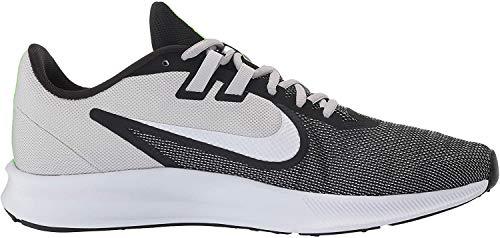 Nike Men's Downshifter 9 Black/White-Vast Grey Running Shoes-10 UK (45 EU) (11 US) (AQ7481-007)