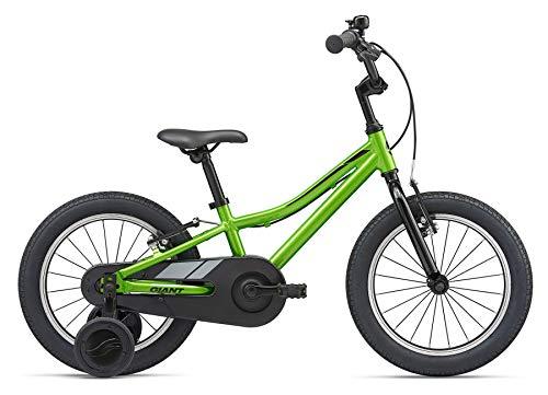 Giant Bicicleta de niño para niño de 16 pulgadas Animator F/W 16 de aluminio con ruedas para bicicleta verde