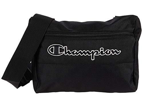 Champion Unisex-Erwachsene City Cross Body Bag Bauchtasche, schwarz, Einheitsgröße