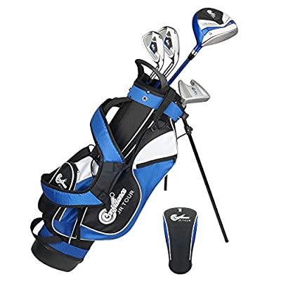 """Confidence Golf Junior Golf Clubs Set for Kids Age 4-7 (up to 4' 6"""" Tall)- Lefty"""
