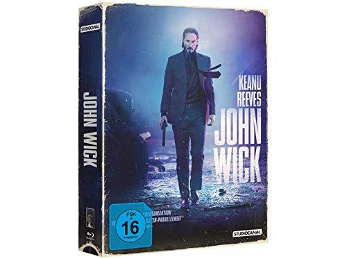 John Wick - Exklusive VHS Retro Tape Edition nummeriert Limitiert auf 1.111 Stück - Blu-ray