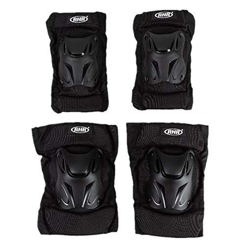 GZA Almohadillas Térmicas de Rodilla de Invierno Cojines De Rodilla De Motocicleta para Adultos Protector Protector De Seguridad De Alto Impacto Ciclismo (Size : Knee Pads)
