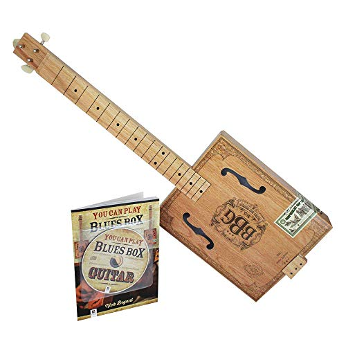 Hal Leonard Electric Blues Cigar Box Slide-Gitarren-Set