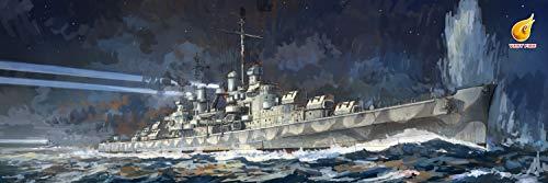 ベリーファイア 1/350 アメリカ海軍 軽巡洋艦 CL-51 アトランタ プラモデル