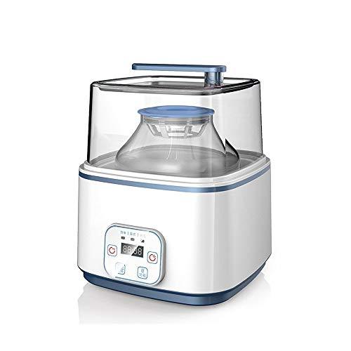 ZSQAI Multifunktions-Joghurt-Enzym-Maschine nach Hause, vollautomatische hausgemachte Reiswein große Kapazität, Frucht Enzym flüssige Gärung Maschine 2L