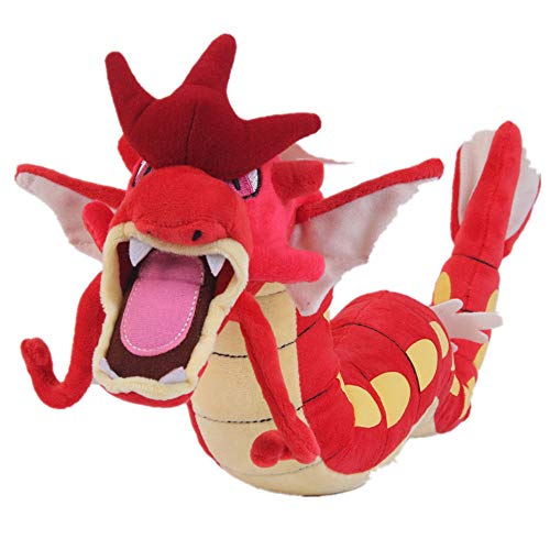 Cuddly-store Gyarados Red Stuffed Animal Soft Doll Plush Toy 23 in.