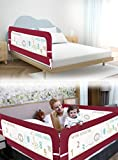 R for Rabbit Safeguard Bed Rails Single Side of Bed Kids Size of