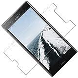TOCYORIC Protector de Pantalla Compatible con Sony Xperia XZ1 Compact [3-Pack, Cristal Templado] [Cristal + Resina] Vidrio Templado con [9H Dureza] [Alta Definicion] [2.5D Borde Redondo]