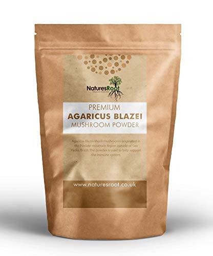 Nature's Root Premium Agaricus Blazei Powder 100g - Mushroom Powder | Natural & Vegan | Nutritious Superfood | Immune System Booster …