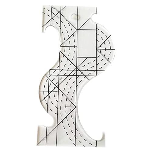 Takefuns Regla multifuncional para coser y acolchar