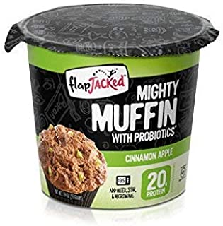 FlapJacked Mighty Muffins, Gluten-Free Cinnamon Apple, 12 Pack