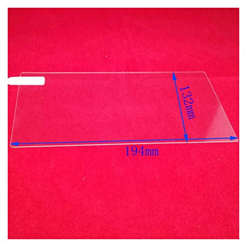 LIUWEI 7'8' 9'10' 10.2'Protector de Pantalla de Cristal Templado Universal FIT FIT FOR Tablet ERERADER EBOOK COUS GPS Navigation DVD Estéreo Radio (Color Name : 176x99mm)