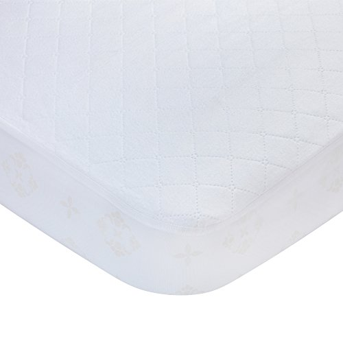 Waterproof Fitted Quilted Crib and Toddler Protective Mattress Pad Cover $10.99 (45% Off)