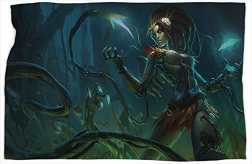 Zyra Haunted League Legends - Manta doble (152,4 x 203,2 cm)