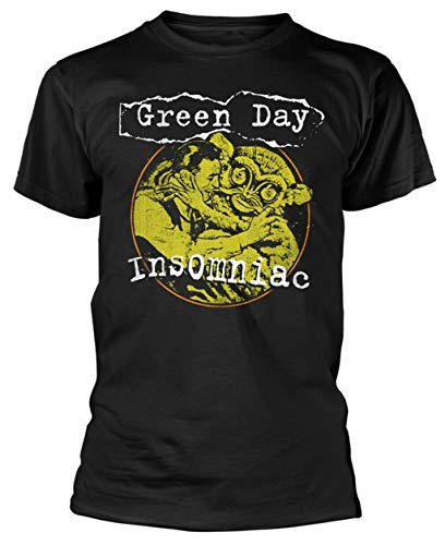 Green Day 'Insomniac Free Hugs' T-Shirt - New & Official!