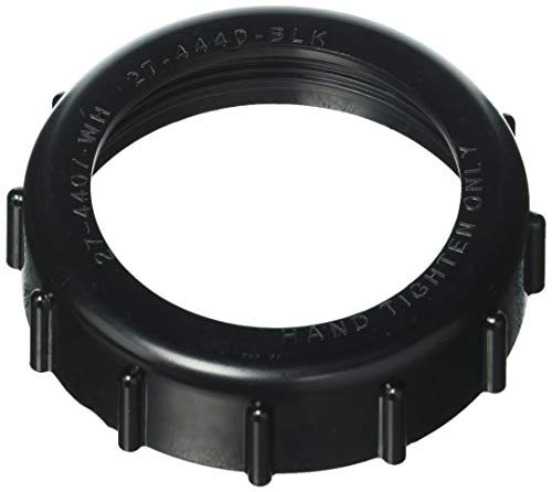Pentair 274440 Black Bulkhead Ring Adapter Replacement Pool/Spa Heater and Valve