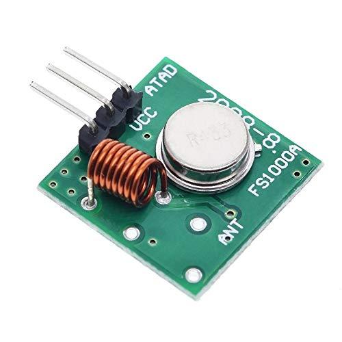 PengCheng Pang Modulo trasmettitore 433Mhz RF Wireless e Kit Ricevitore 5V DC 433MHZ Senza Fili for for Raspberry Pi/Arm/MCU DIY Kit WL