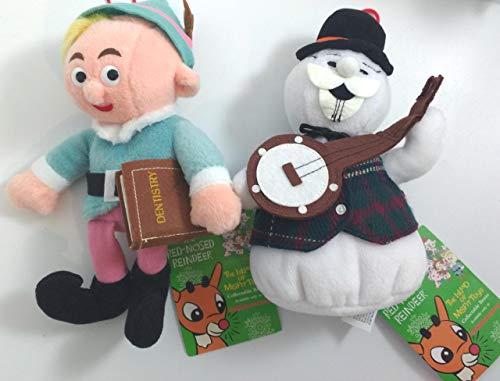 CVS Stuffins Island of Misfit Toys Herbie / Hermey The Dentist Elf + Sam The Snowman