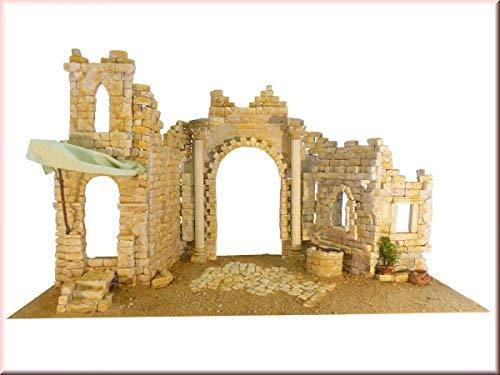 Unbekannt Krippenbausatz Palmyra, Krippenbau Orientalische Weihnachtskrippe