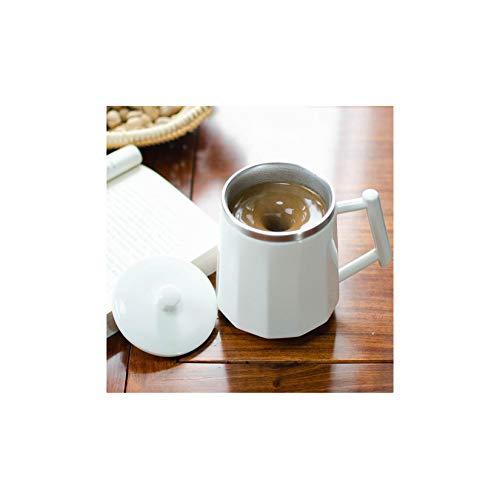 LORIEL Taza De Café De Agitación Magnética Automática: Taza De Agitación (360 Ml / 12Oz), para Café/Té/Chocolate Caliente/De Leche Taza para Oficina/Cocina/Viaje/Hogar