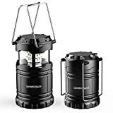 New Ultra Bright LED Lantern - Camping Lantern - Collapses - Suitable for: Hiking, Camping, Emergencies,...