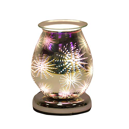 Aroma Accessories Oval 3D Touch Electric Burner Firework