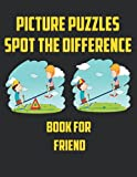 Picture Puzzles Spot The Difference Book For Friend: Fantastic Book For Fun , 30 Random Pictures