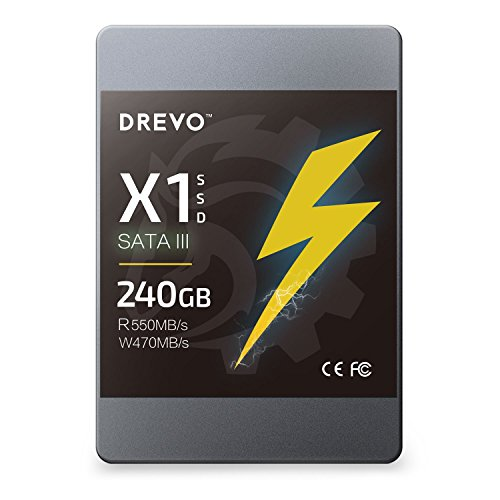 Hectron X1 Series 240GB SSD 2.5-inch Solid State Drive SATA3 Read ...
