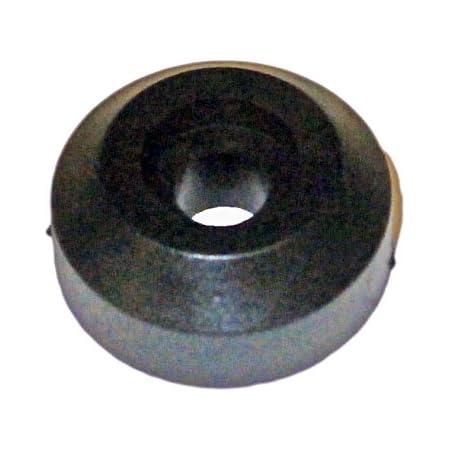 8,5 cm Noir M/étal Wedo 624411 Sonnette