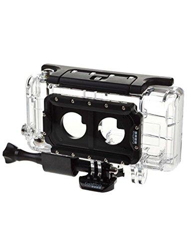 GoPro Gehäuse Dual HERO System (Standard, Skeleton-Hintertüren, 2 x gebogene + 2 x gerade Klebehalterungen, 3D Anaglyph-Brillen, USB-Kabel)