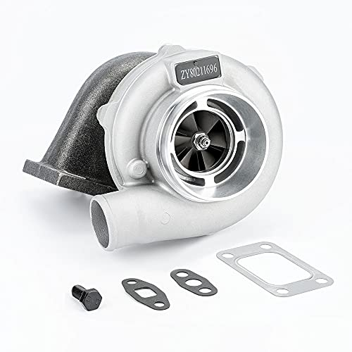 maXpeedingrods Universal GT30 GT3037 Turbo T3 Flange 4-Bolt 500+HPS, 0.82 A/R Turbine Water&Oil, GT3076 Turbocharger for all 6/8 cyl 3.0L-5.0L engine