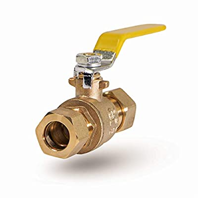 Everflow Supplies 600M012-NL Lead Free Compression Ball Valve, 1/2-Inch from Everflow Supplies