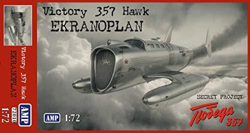 AMP 72-010 - 1/72 - Victory 357 Hawk. Prototype Aircraft Scale Plastic Model 5