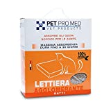 Virosac PetProMed - Lettiera agglomerante ideale per le lettiere dei gatti - 5 kg di sabbia 100% naturale