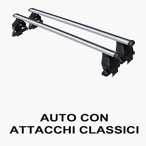 Barras portaequipajes Giulietta 5P a partir de 2010 de aluminio