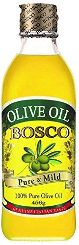 BOSCO オリーブオイル ピュア 瓶 500ml [1528]