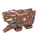 Modelo técnico de orugas de Arena, 828 Piezas Super Star Sand Crawler UCS Set de construcción, Compatible con Lego Star Wars