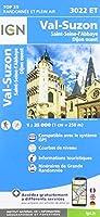 Val Suzon Saint-Etienne-L'Abbaye Dijon Ouest 1:25 000