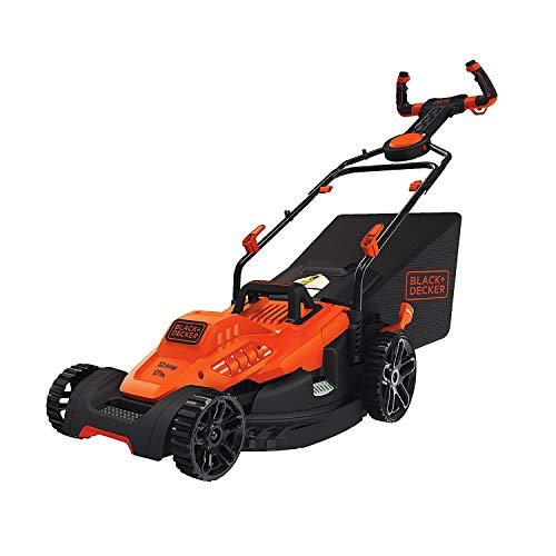 BLACK+DECKER Electric Lawn Mower, 12-Amp, 17-Inch (BEMW482ES)