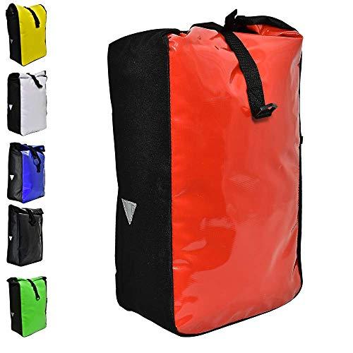 Büchel Gepäckträgertasche aus Tarpaulin, rot, 81516014
