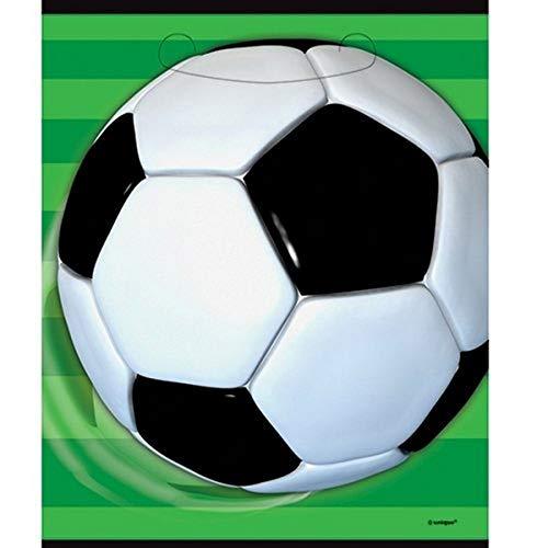 Unique Party - 27313 - Paquet de 8 Pochettes - Cadeau Football