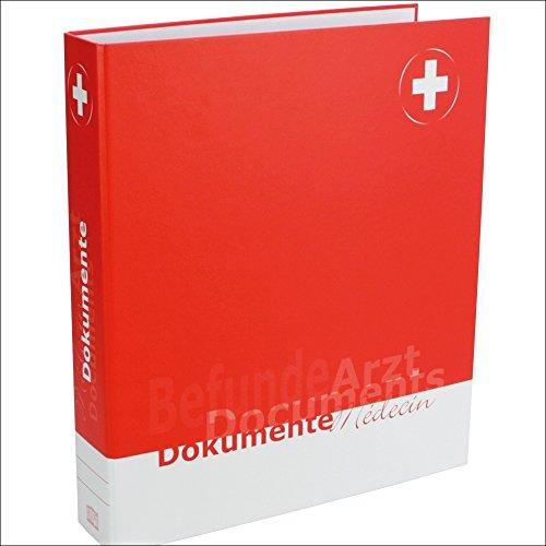SAFE 4003 DIN A4 Ringbinder Dokumenten Ordner Familie 'Arzt' - Für alle Unterlagen Berichte vom Arzt & Doktor & Pflegedienste & Krankenkasse
