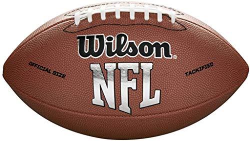 Wilson NFL MVP Peewee Football - Brown Version