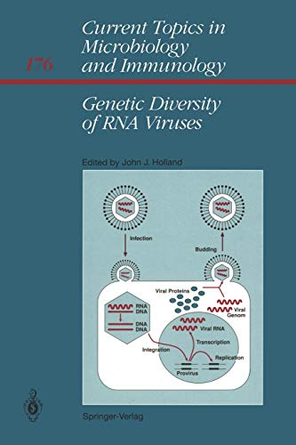 Genetic Diversity of RNA Viruses (Current Topics in Microbiology and Immunology (176), Band 176)