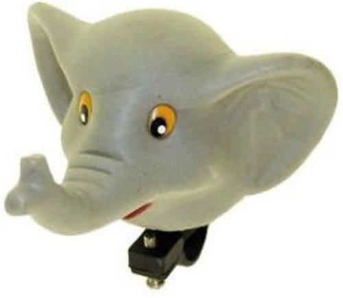 Fahrrad Hupe Elefant grau
