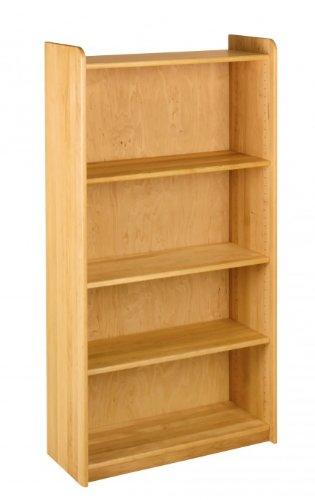 BioKinder 22139 Lara Plank Boekenkast Kinderplank breed massief houten elzenhout 160 x 84 x 35 cm