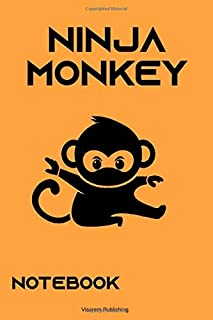 Ninja Monkey Notebook College Ruled ver. 1